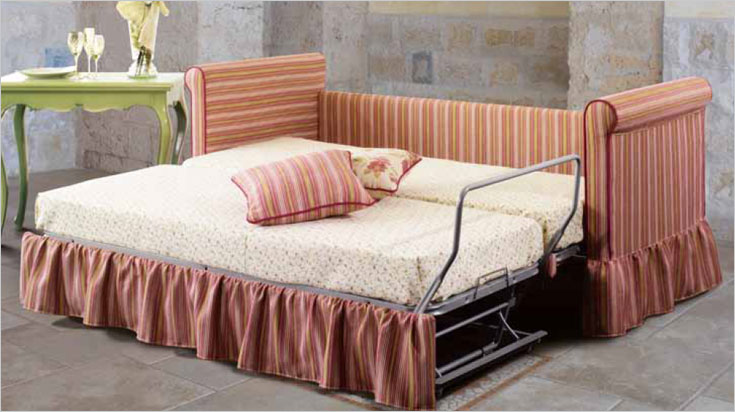 Country collection treci salotti - Divano letto stile country ...